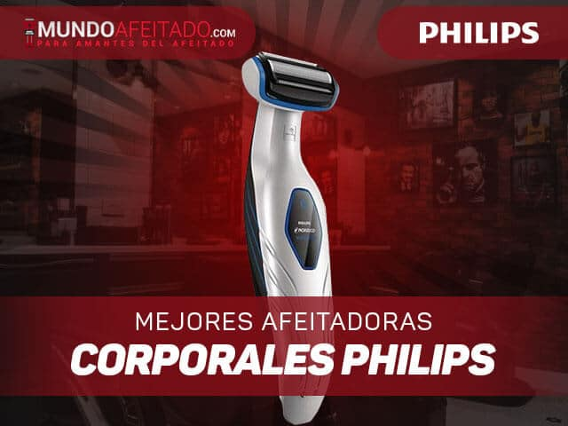 Mejores-afeitadoras-corporales-philips