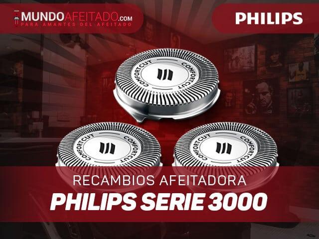 Recambios-Afeitadora-Philips-Serie-3000